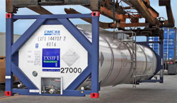 EXSIF Products Intermodal 407 Tank Container Leasing