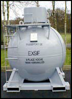 EXSIF Products Mini Tank Container Leasing